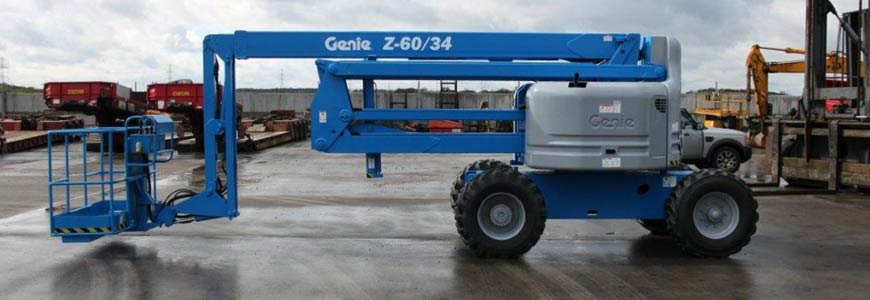 Genie z60 34 diesel cherry picker access plus spec sheet machine brochure sciox Gallery
